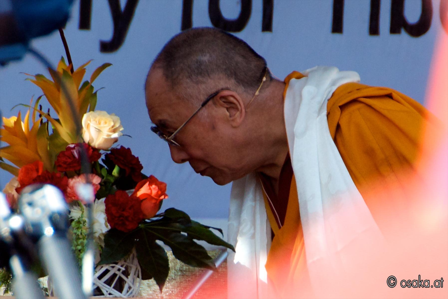 Dalai Lama am Heldenplatz