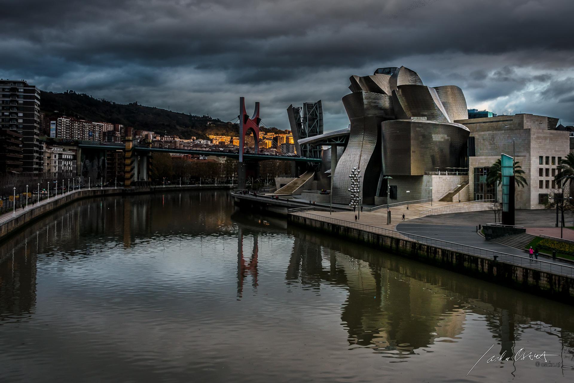 Guggenheim Museum Bilbao by Sascha Osaka